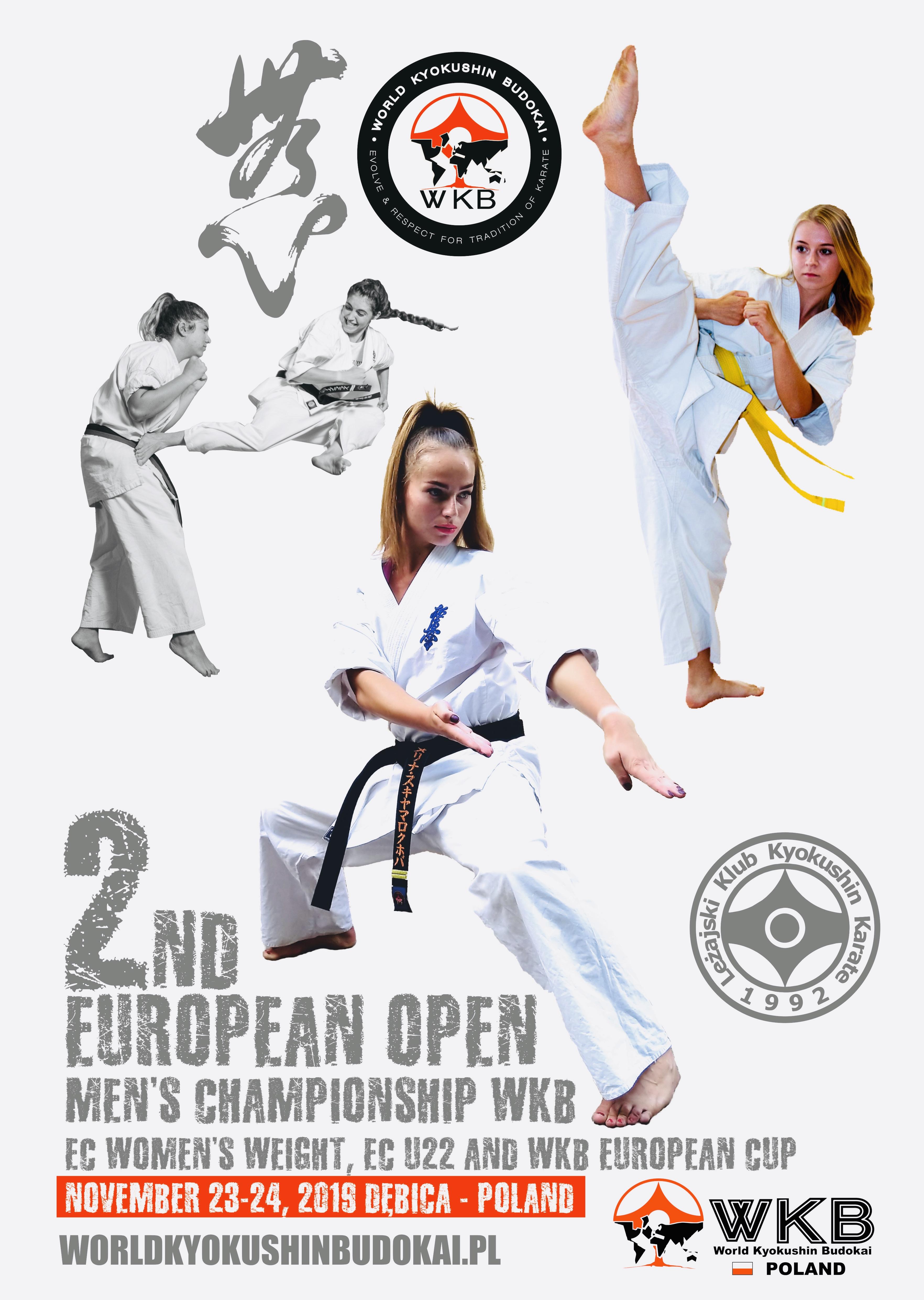 Mistrzostwa Europy Open WKB – Zapraszamy!