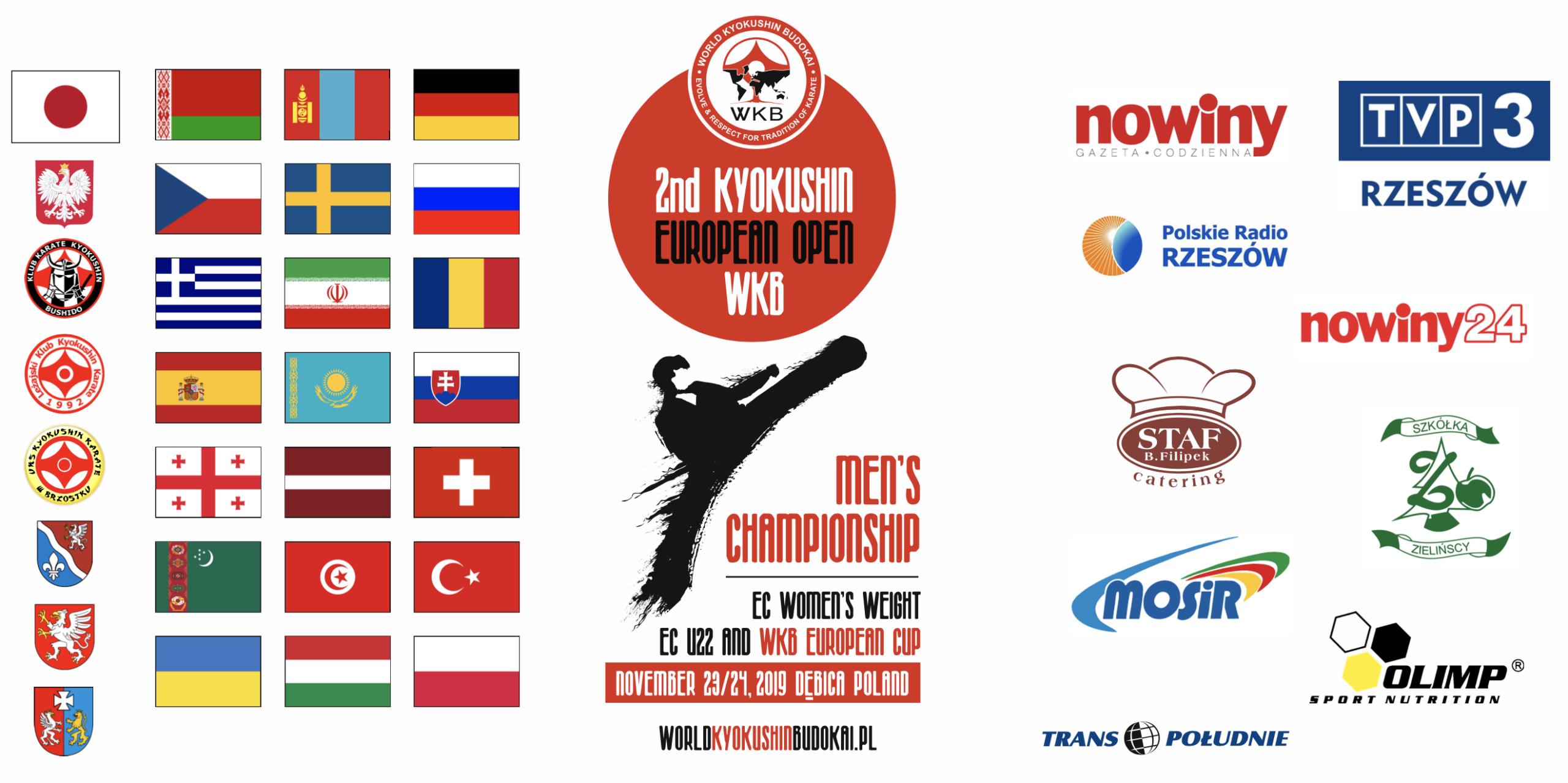 Zapraszamy do oglądania transmisji online z Mistrzostw Europy Open WKB