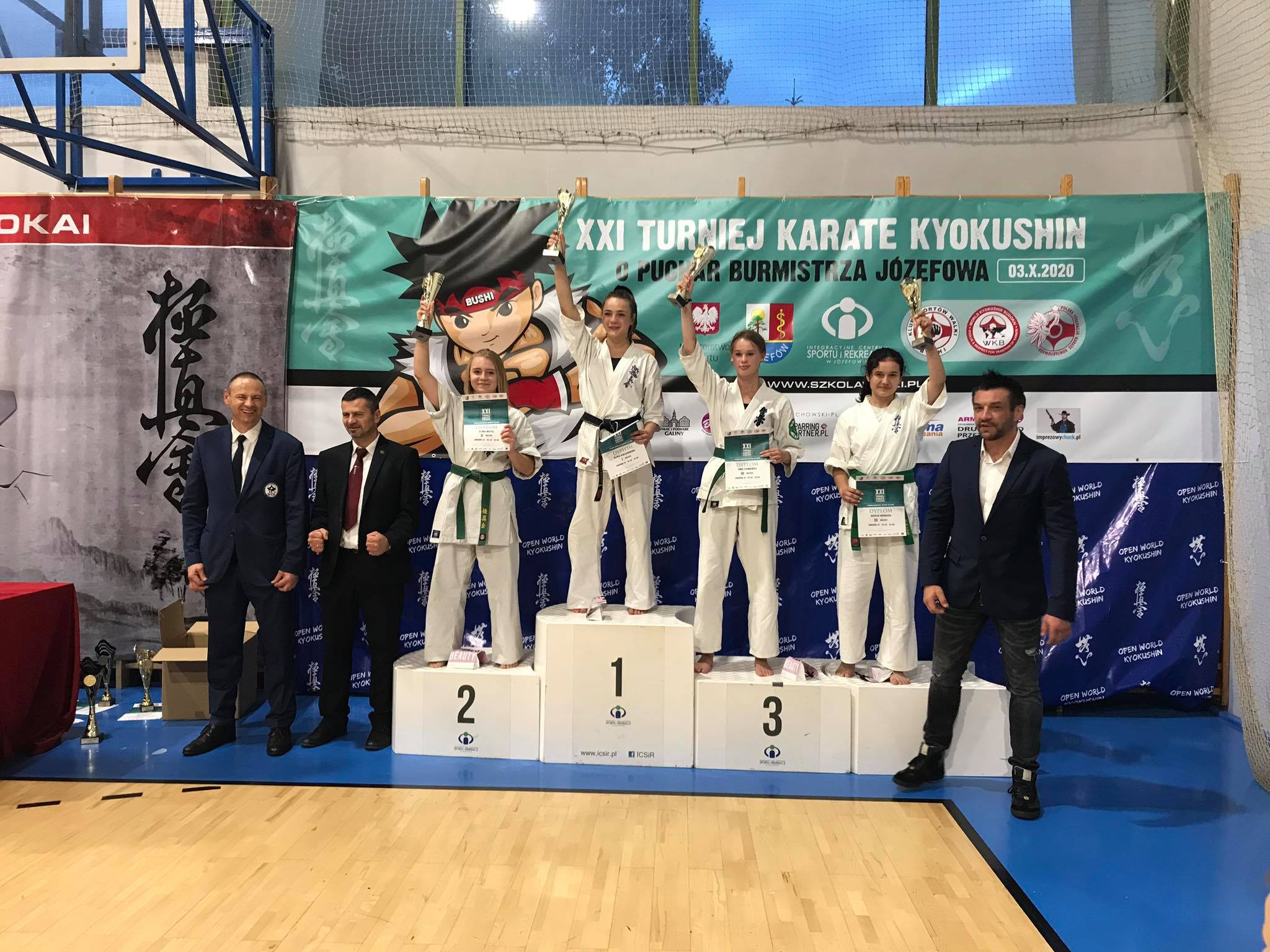 XXI Turnieju Karate Kyokushin o Puchar Burmistrza Józefowa