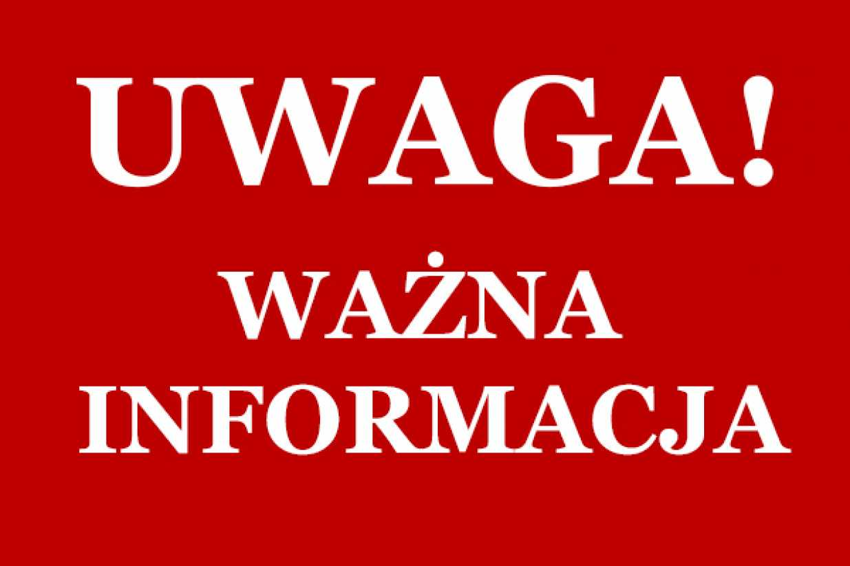 Read more about the article Ważne