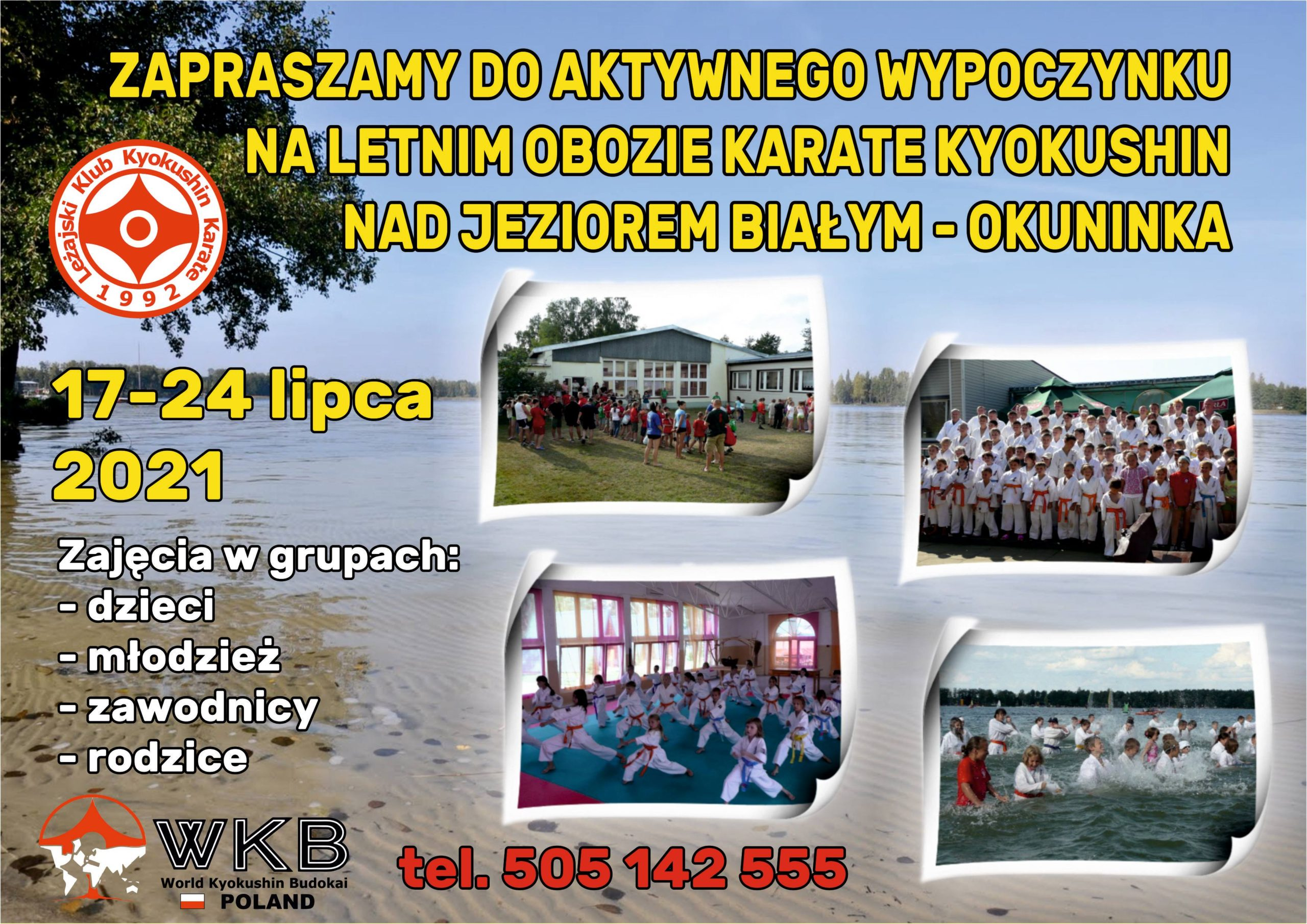 You are currently viewing Letni obóz karate LKKK